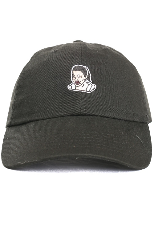 40s & Shorties, Crying Game Dad Hat - Black
