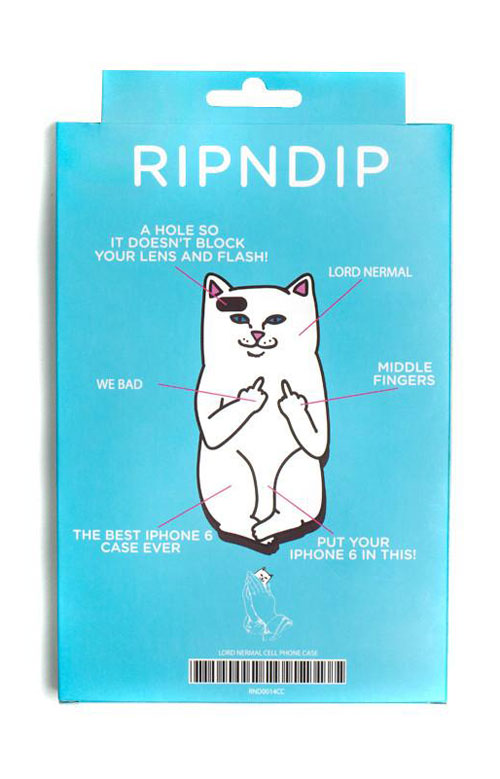 Lord Nermal iPhone 6+/6S+ Case - White 2