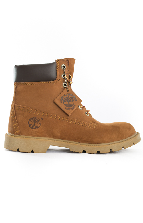 (TB019076) 6-Inch Basic Boots - Rust/Org