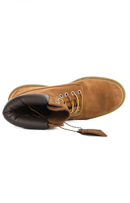 (TB019076) 6-Inch Basic Boots - Rust/Org 2