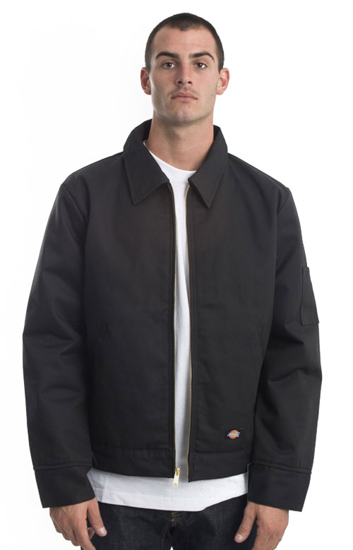 (TJ15BK) Insulated Eisenhower Jacket - Black