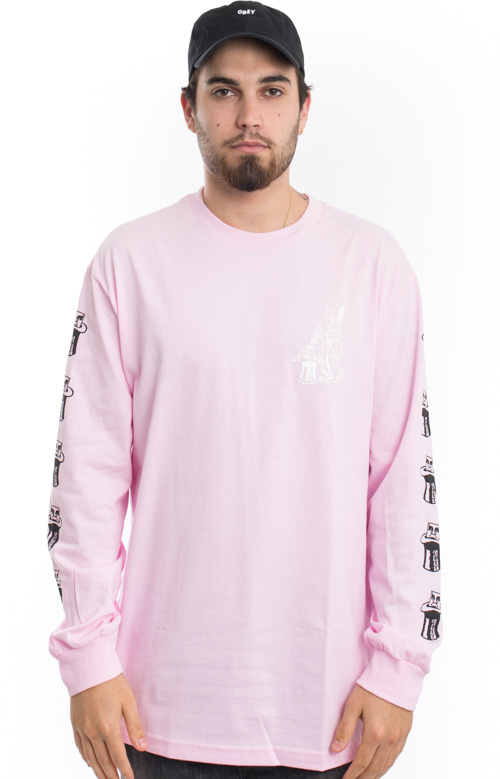 Magic Hat L/S Shirt - Pink