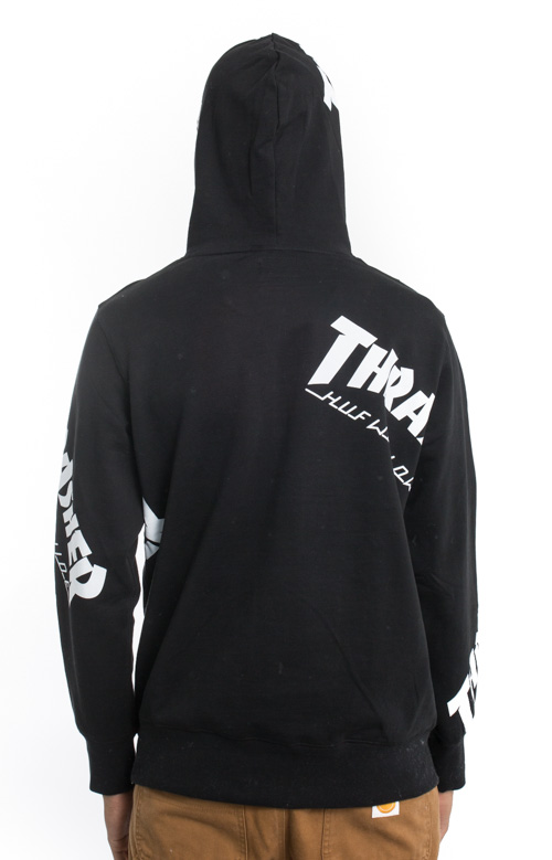20ab23abd335 Thrasher TDS Allover Pullover Hoodie - Black. Thumbnail 1 Thumbnail 1  Thumbnail 1 Thumbnail 1