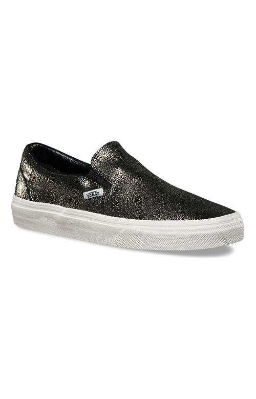 (3TBLY3) Gold Dots Classic Slip-On Shoe - Gold 3