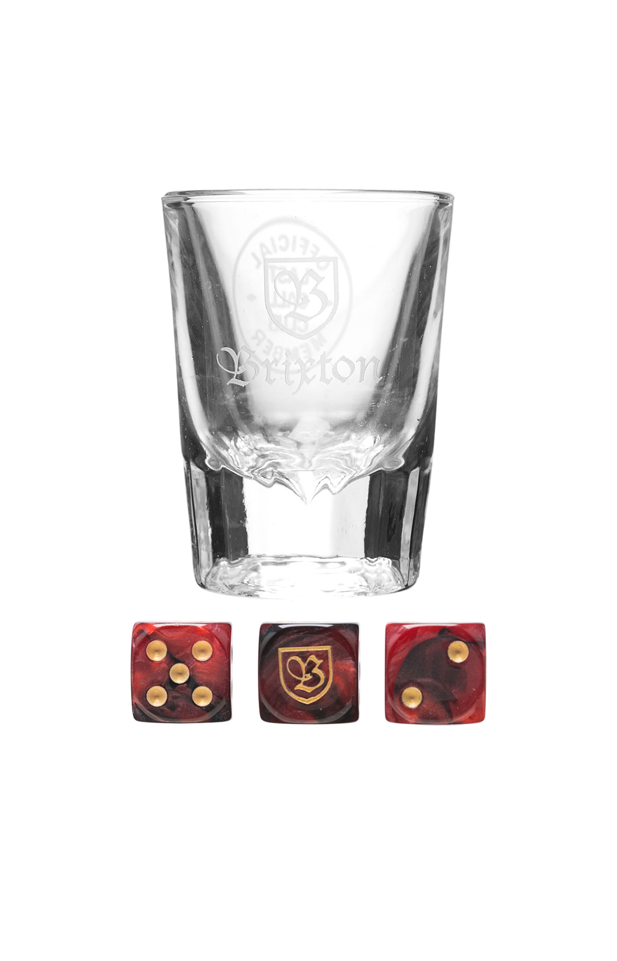 Brixton, Good Times Shot Glass & Dice
