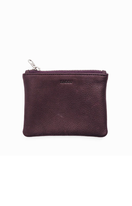 Flat Pouch Small - Oxblood