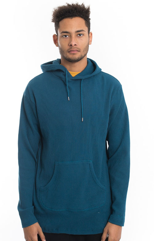 Division Thermal Pullover Hoodie - Teal