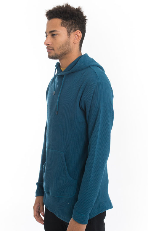 Division Thermal Pullover Hoodie - Teal 2