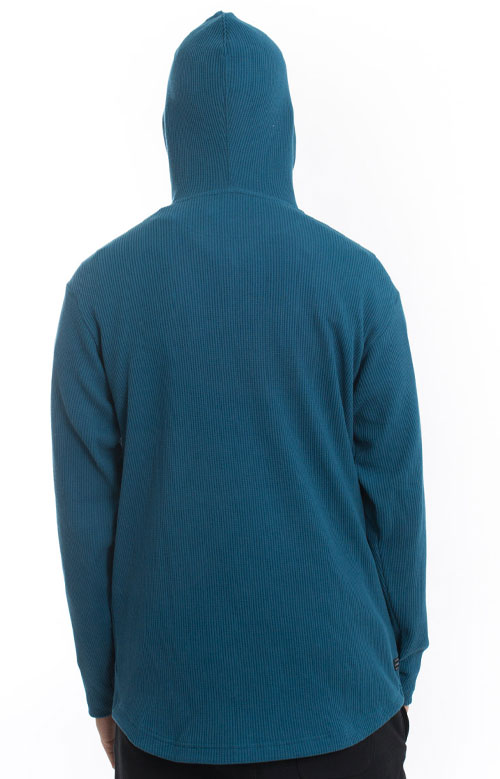 Division Thermal Pullover Hoodie - Teal 3