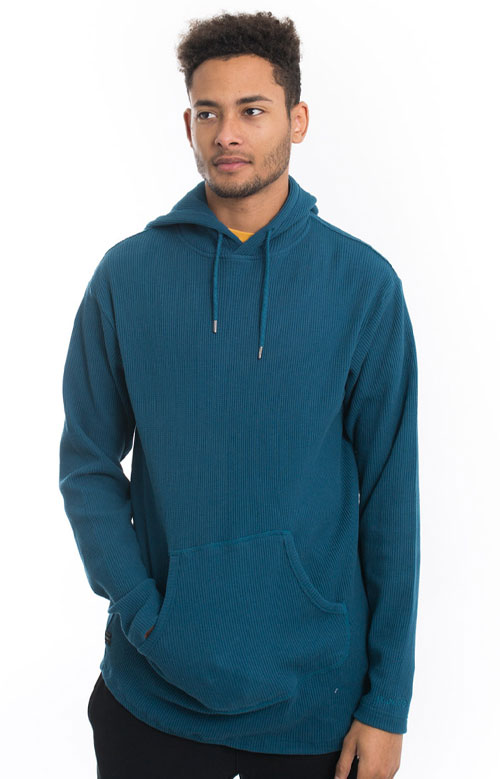 Division Thermal Pullover Hoodie - Teal 4