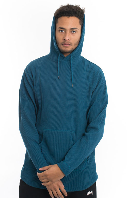 Division Thermal Pullover Hoodie - Teal 5