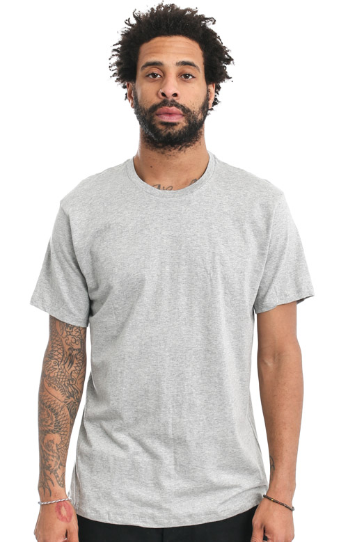 (U4001) Classic 3 Pack T-Shirts - Grey/White/Black