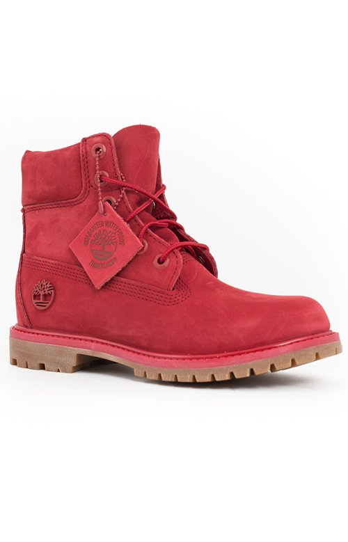 (TB0A1JGJ) Women's 6 inch Premium Boots - Red 2