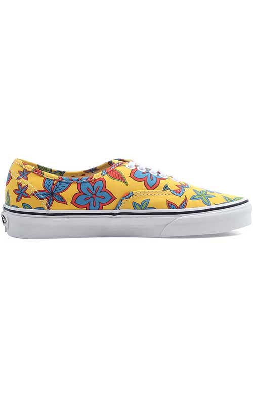 329c1660e4 Freshness Authentic Shoe - Floral Yellow