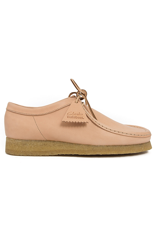 (26122620) Wallabee Boot - Natural Tan Leather