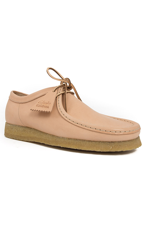 (26122620) Wallabee Boot - Natural Tan Leather 2