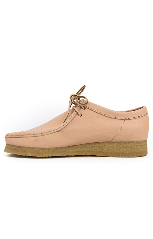 (26122620) Wallabee Boot - Natural Tan Leather 4