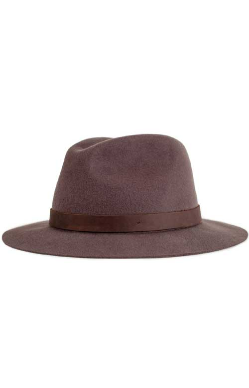 Hopkins Fedora - Brown