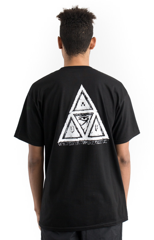 Sumra Triple Triangle T-Shirt - Black