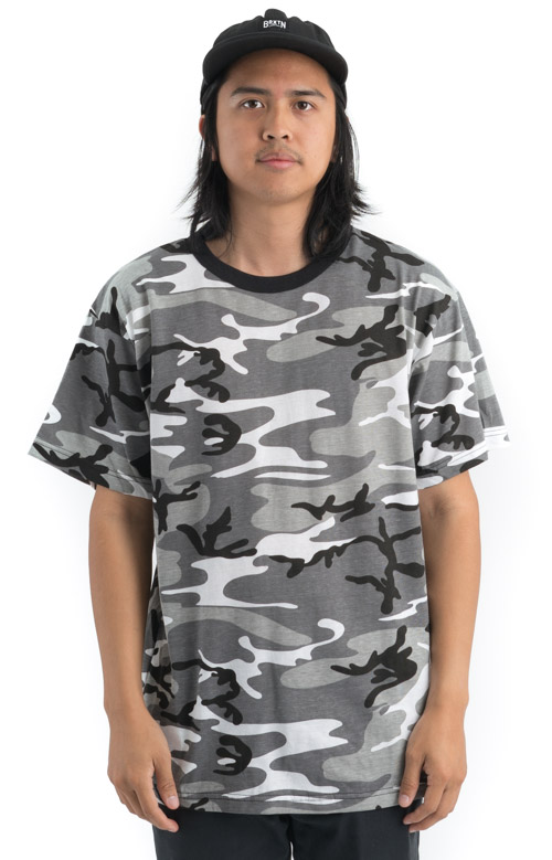 Rothco, (6797) Colored Camo T-Shirt - City Camo