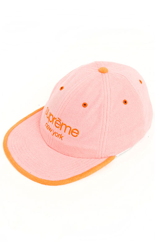 Terry Classic Logo 6 Panel Hat - Pink