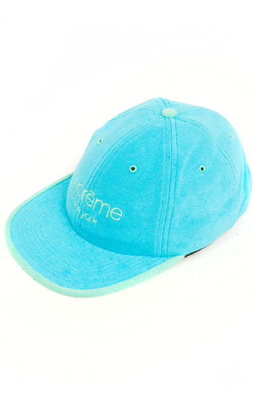 Terry Classic Logo 6 Panel Hat - Blue