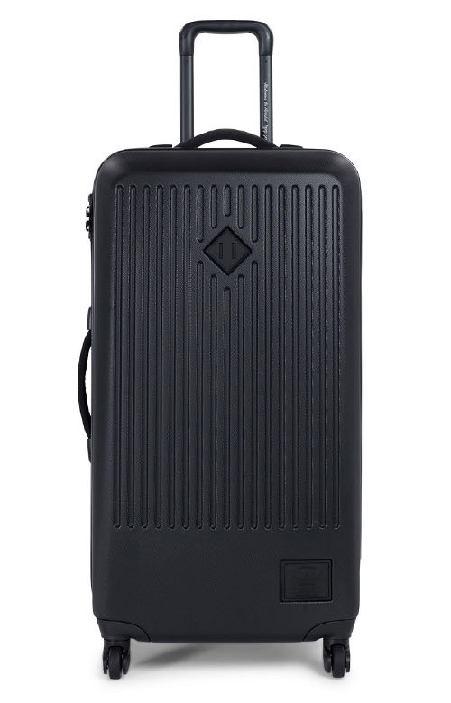 Trade Large Hardshell Luggage - Black