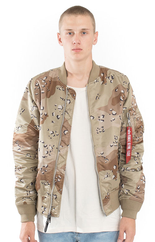 MA-1 Double Camo Jacket - Chocolate Chip Camo/Digi Camo