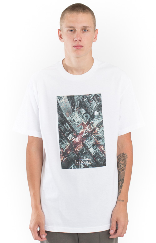 Visual, City T-Shirt - White