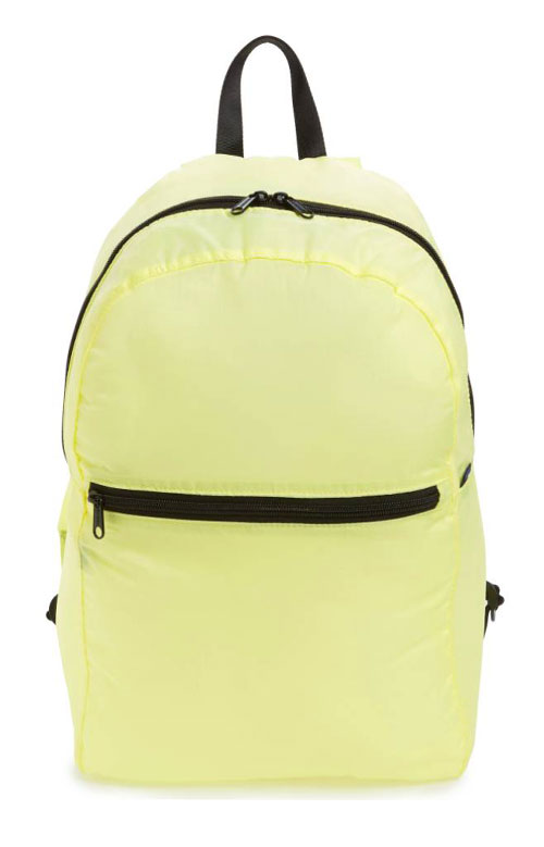 Ripstop Backpack - Citron
