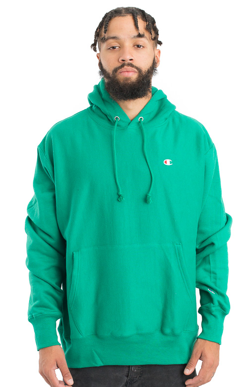 Champion, Reverse Weave Pullover Hoodie - Kelly Green