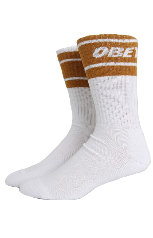 Cooper II Socks - White/Tapenade