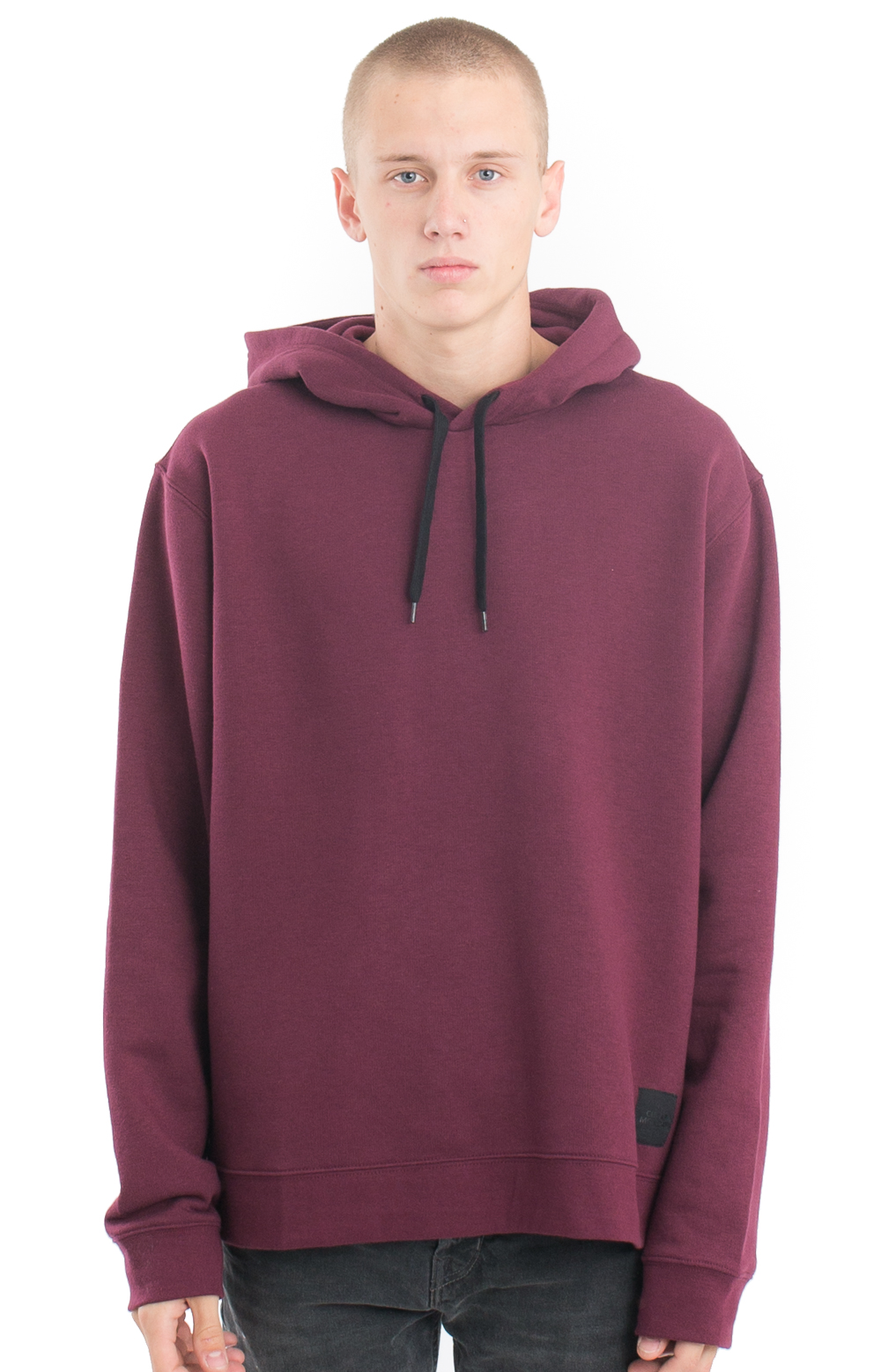be96092d1 Cheap Monday, Pullover Hoodie - Darkest Red | MLTD