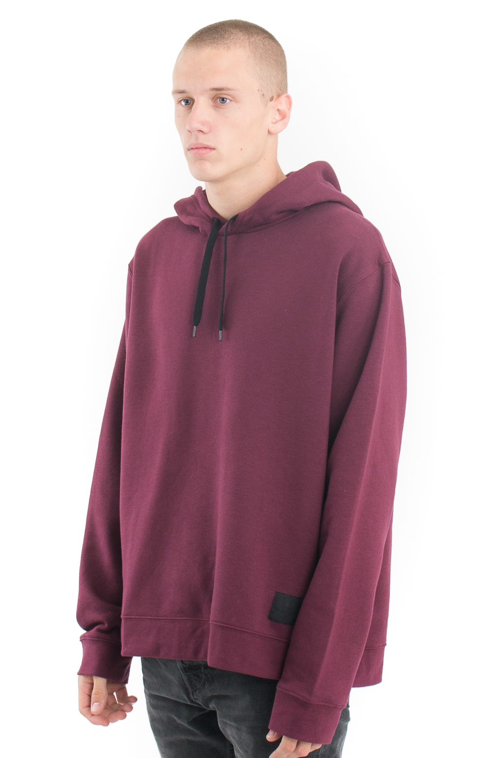 Cheap Monday, Pullover Hoodie - Darkest Red - Cheap Monday - MLTD