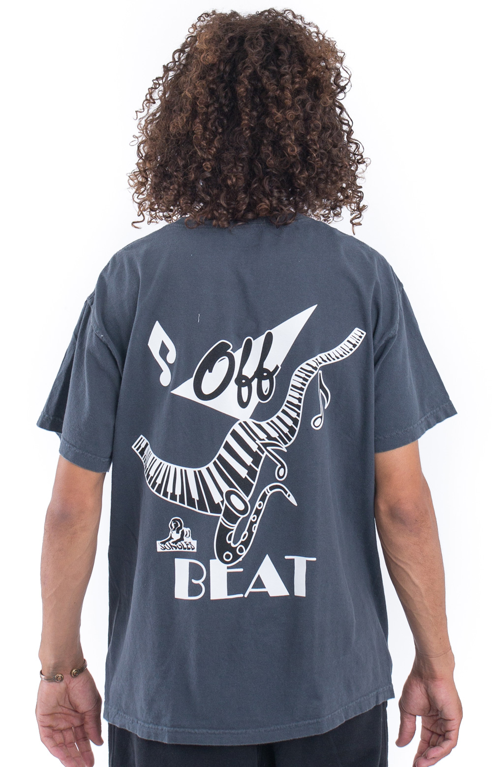 Off Beat T-Shirt - Graphite