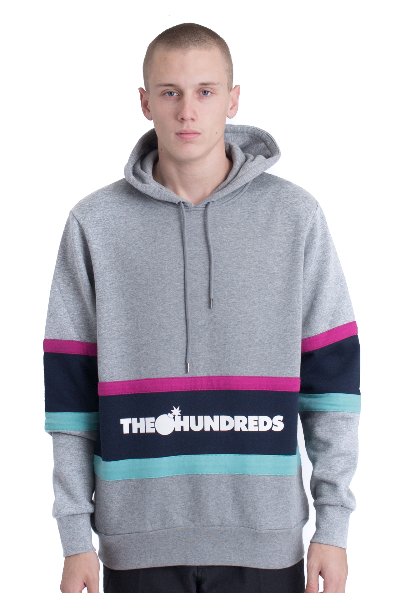 The Hundreds, Briggs Pullover Hoodie Grey