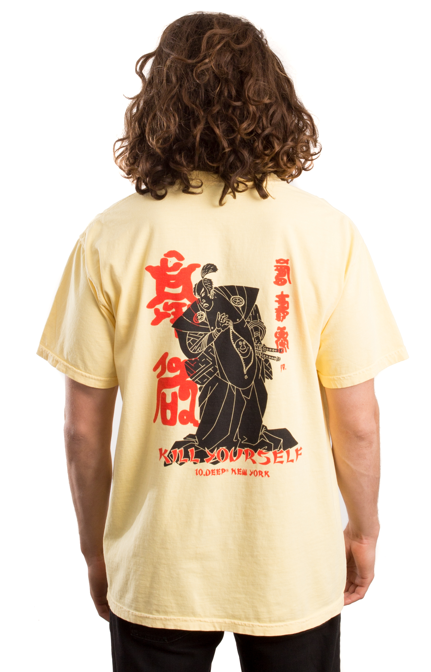 10 Deep, Belly Full Of Laughs T-Shirt - Yellow