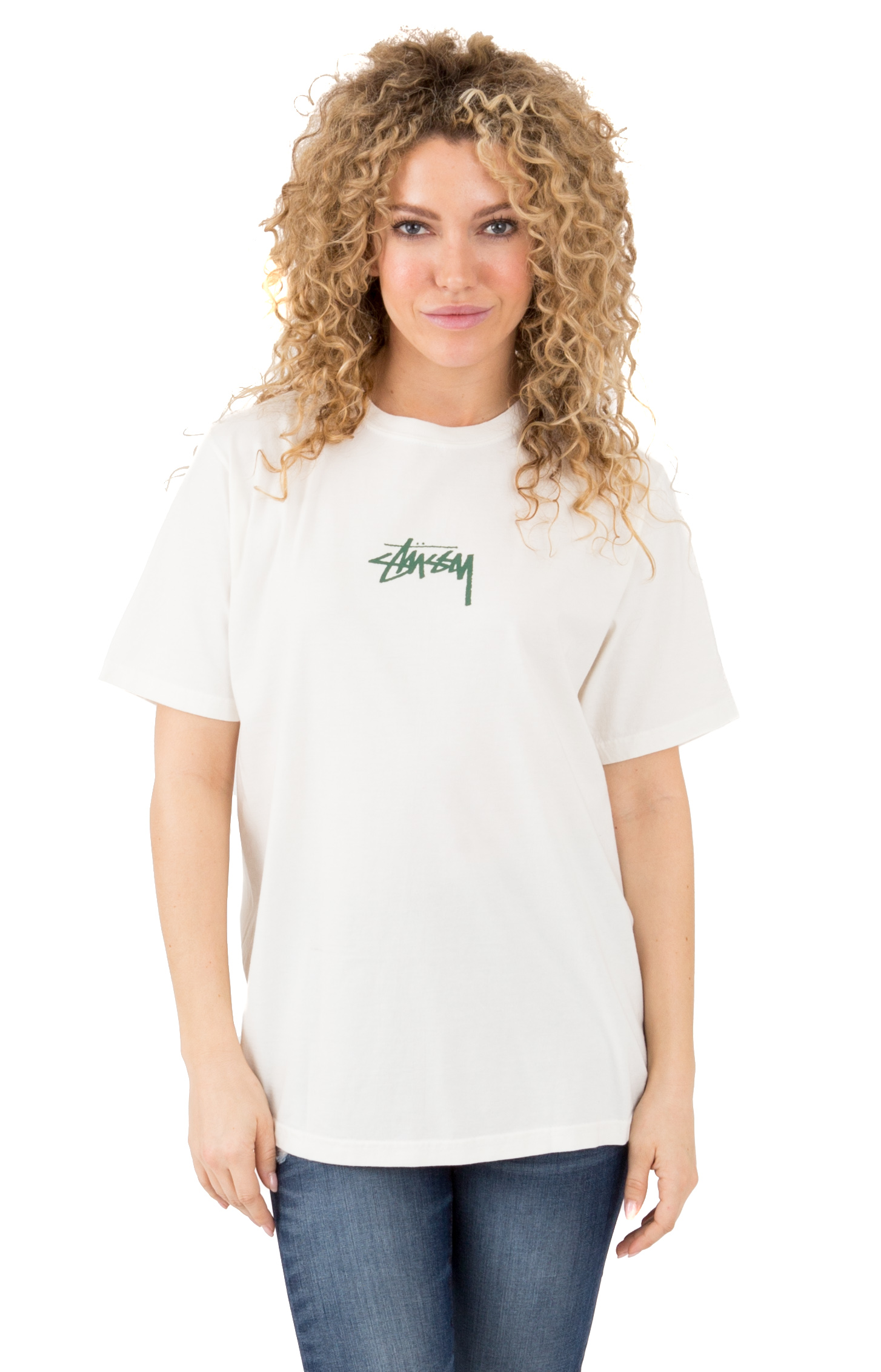 Stock Pigment Dyed T-Shirt - Natural