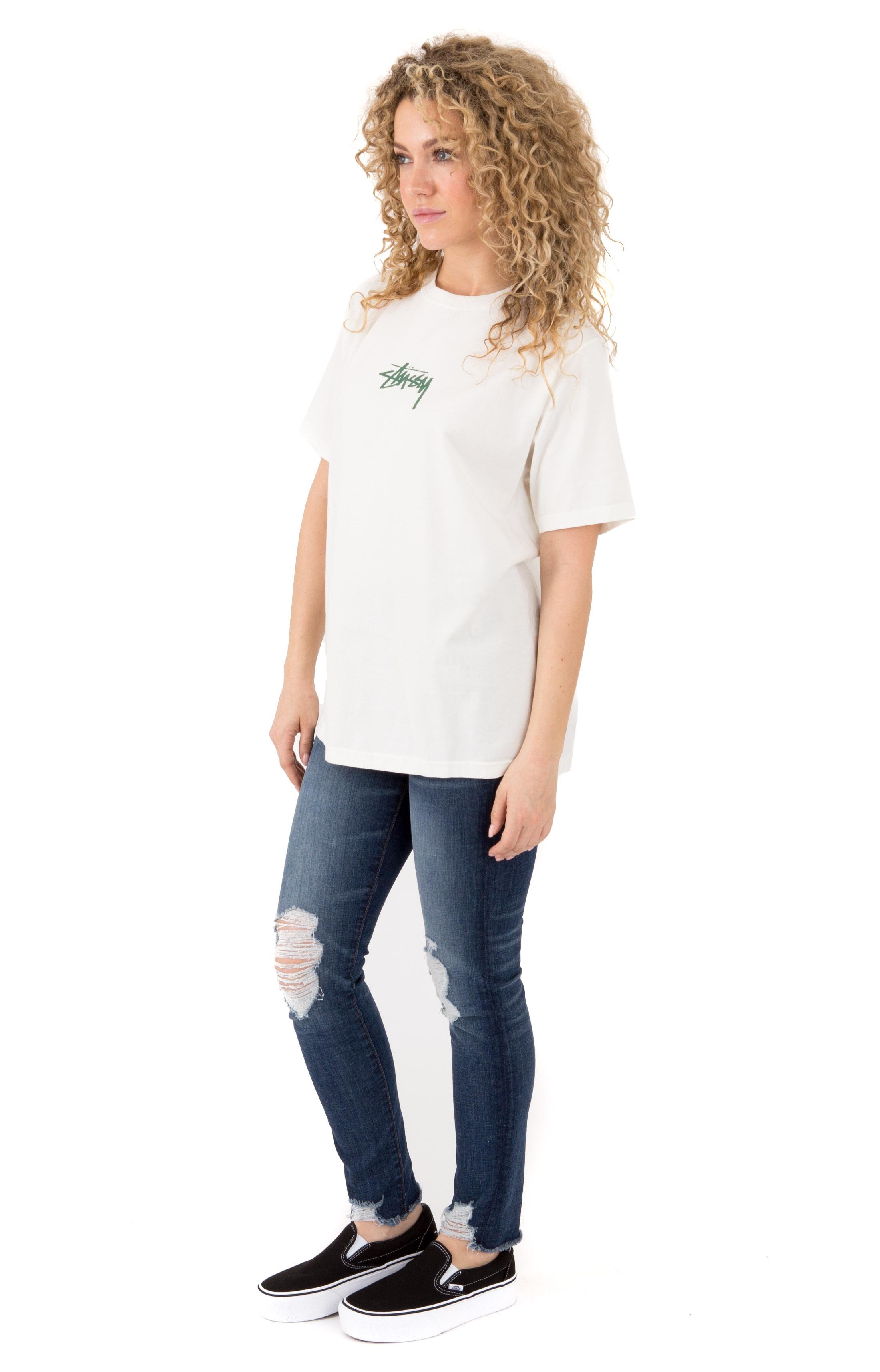 Stock Pigment Dyed T-Shirt - Natural  2