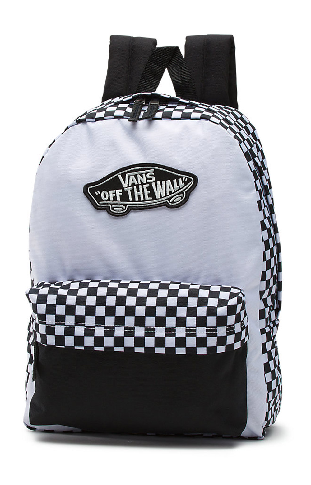 be07a09d0b1 Vans Women's, Realm Backpack - Black/White Checkerboard | MLTD