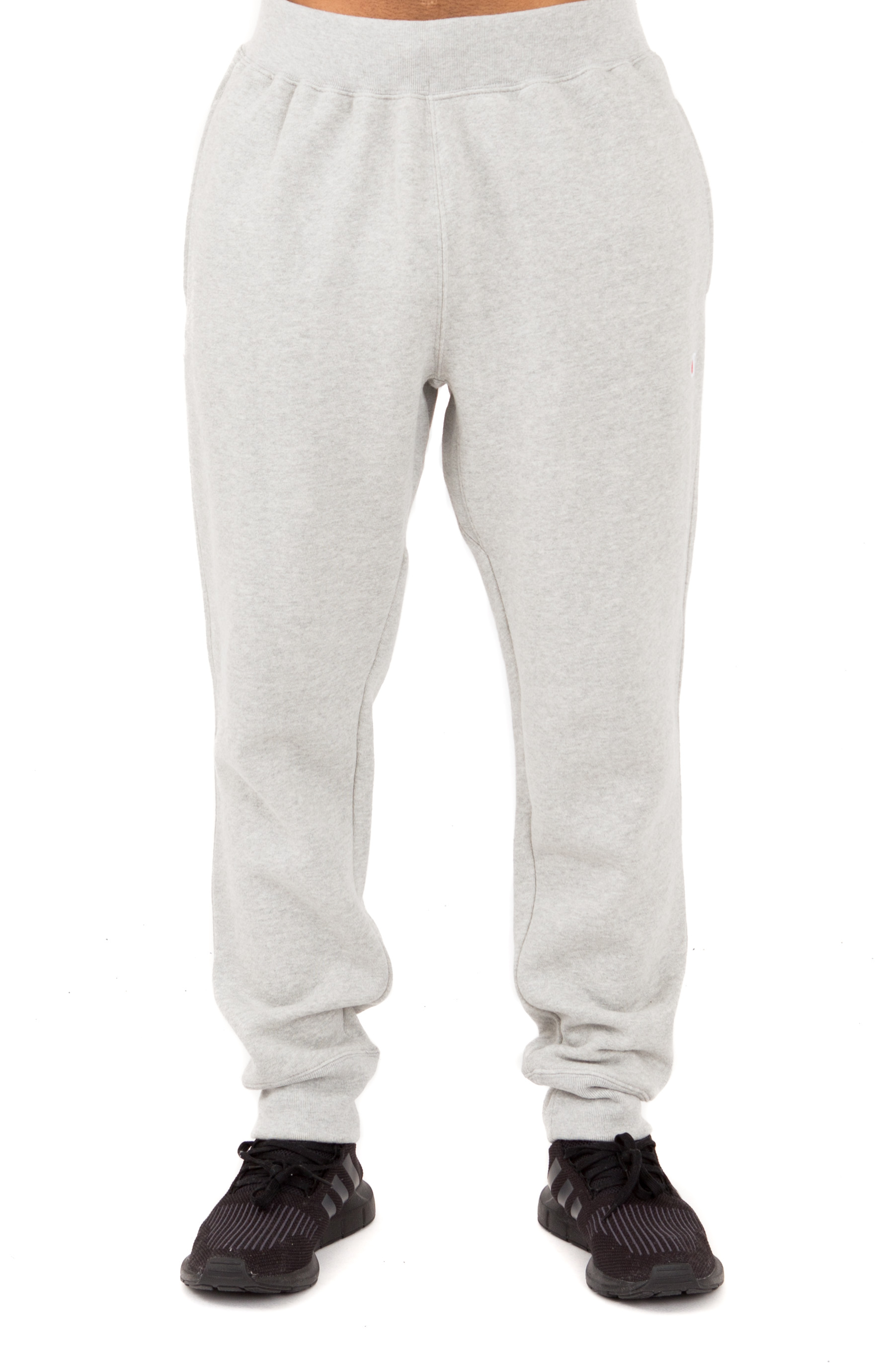 Reverse Weave French Terry Sweatpants - Oxford Grey 2
