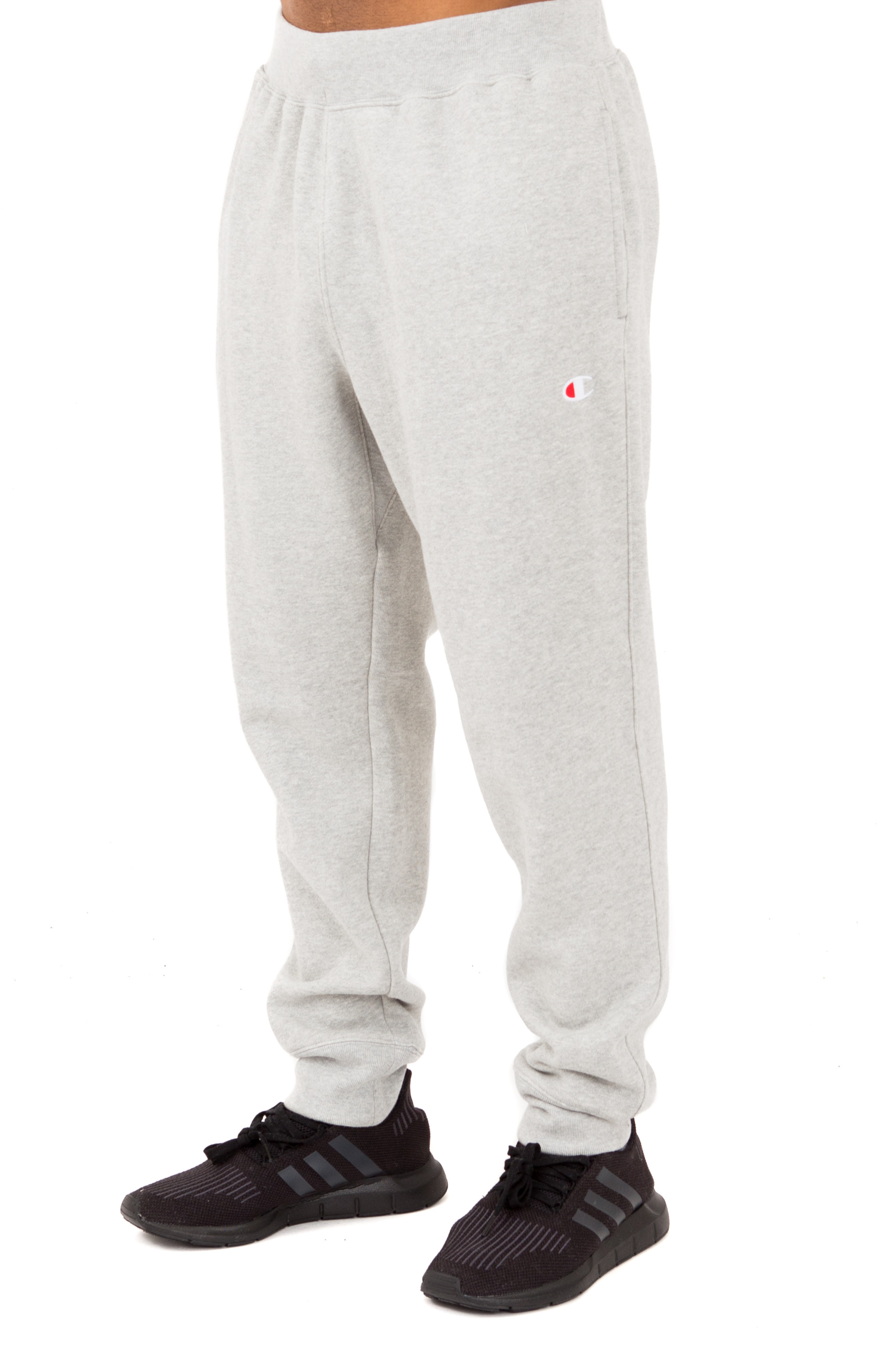 Reverse Weave French Terry Sweatpants - Oxford Grey
