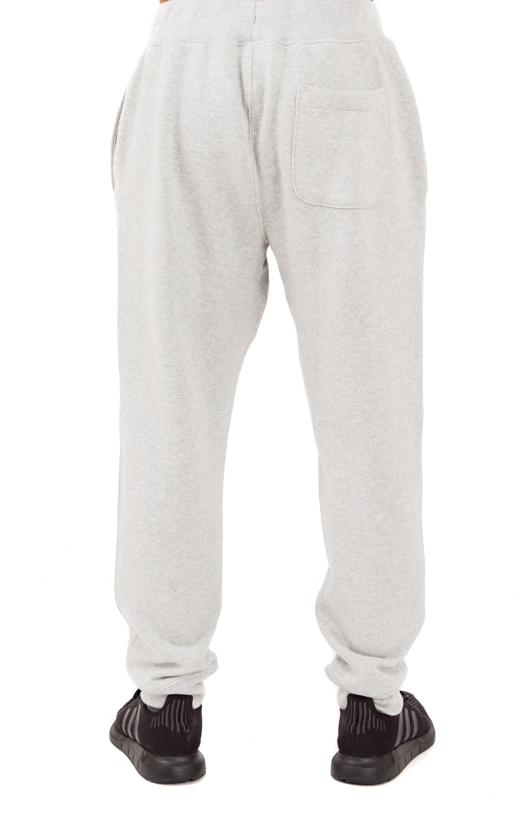 Reverse Weave French Terry Sweatpants - Oxford Grey 3