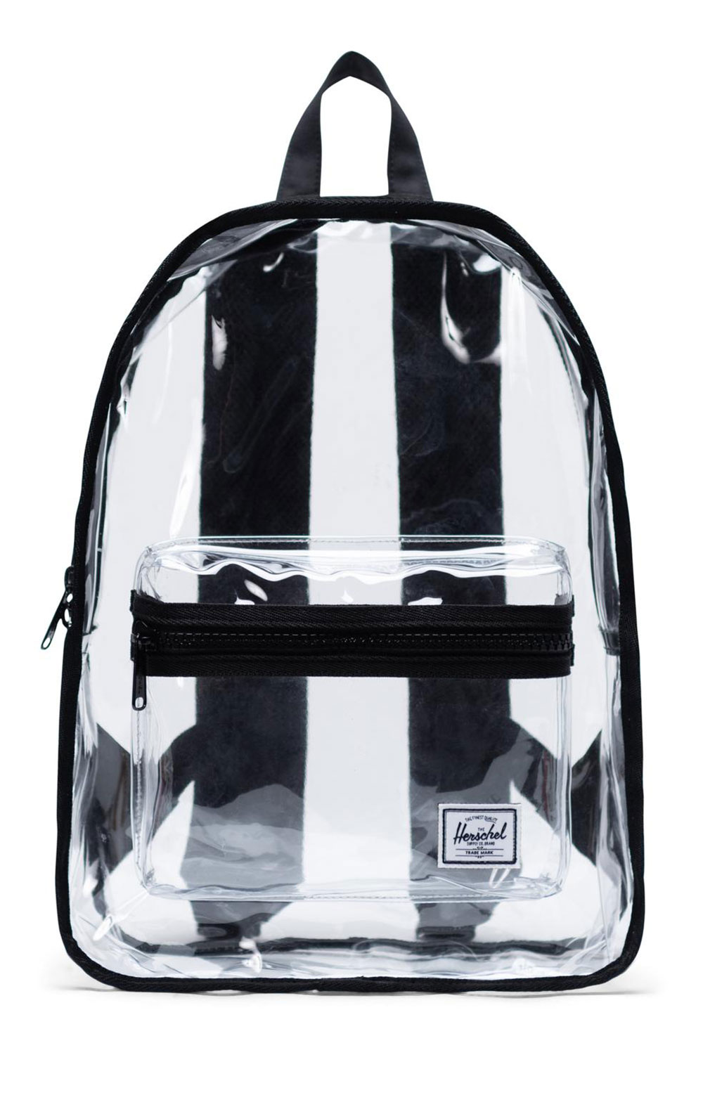Classic Mid Clear Backpack - Black