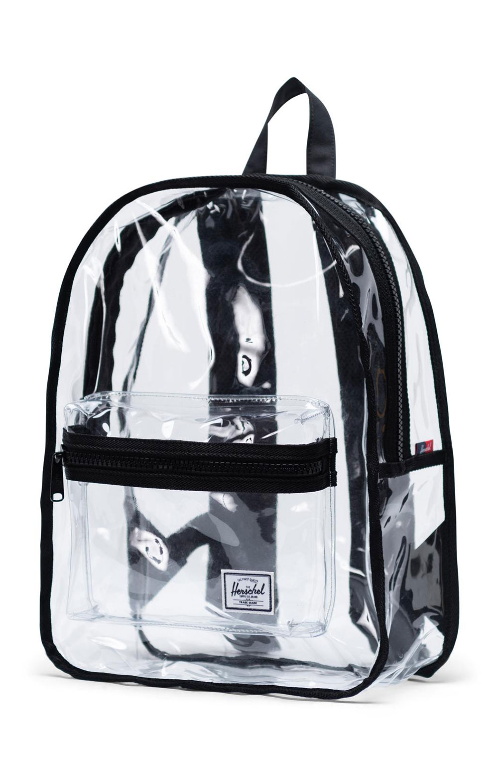 Classic Mid Clear Backpack - Black 2