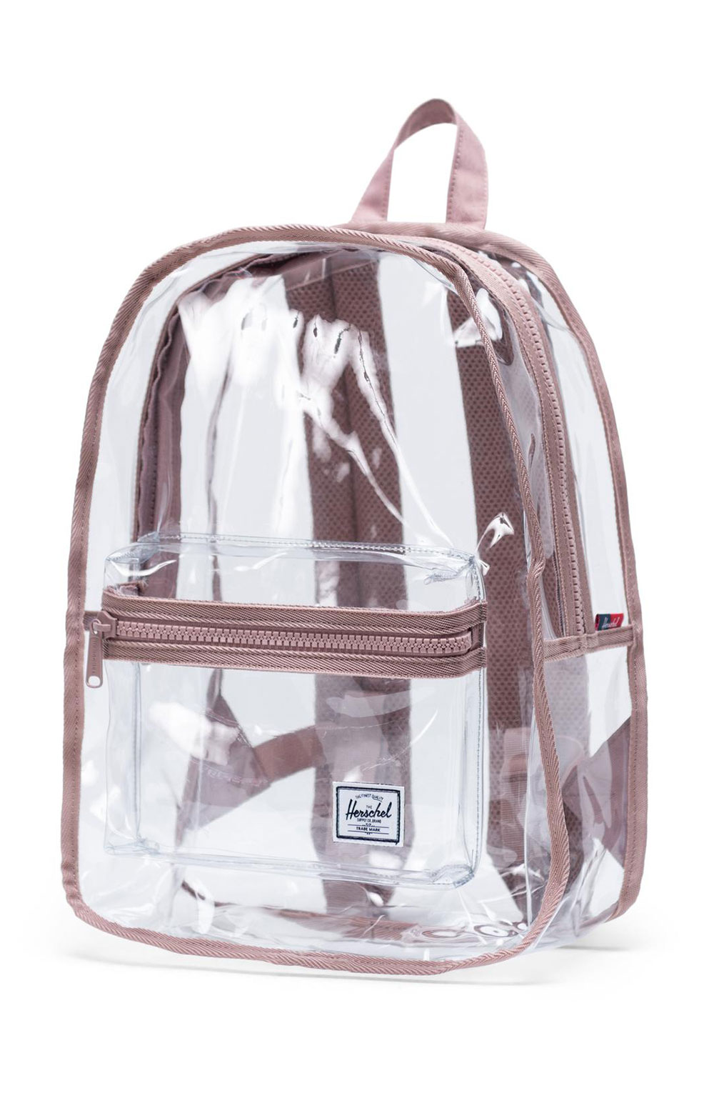 Classic Mid Clear Backpack - Ash Rose  2