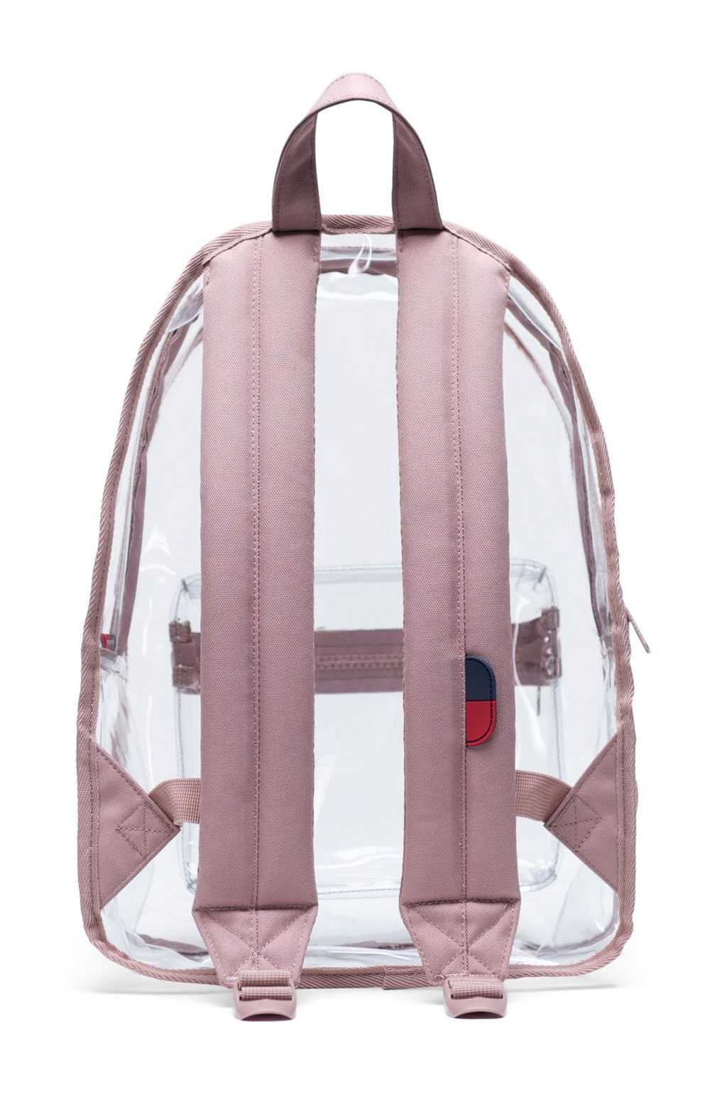 Classic Mid Clear Backpack - Ash Rose  3