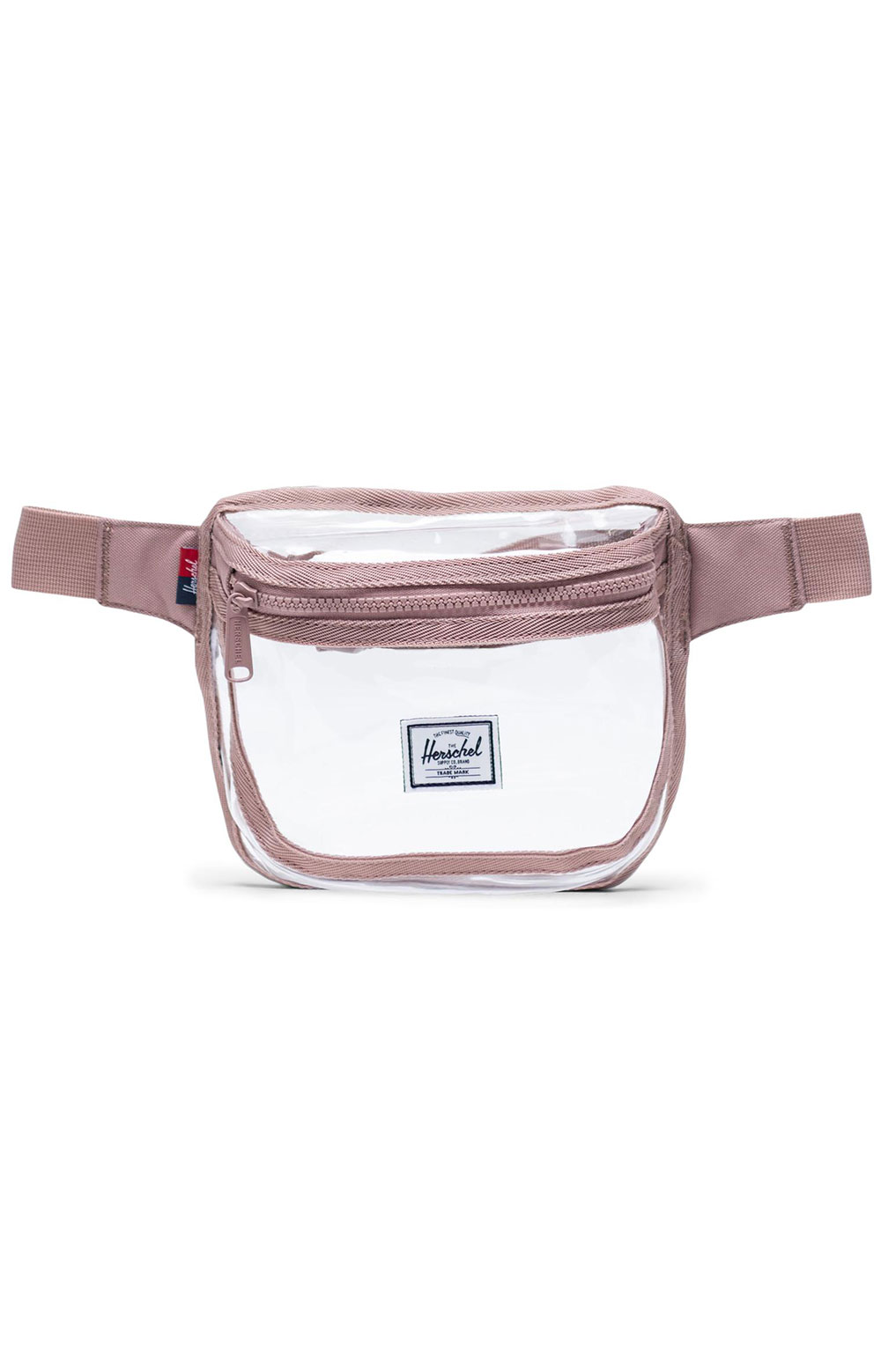 Fifteen Clear Hip Pack - Ash Rose