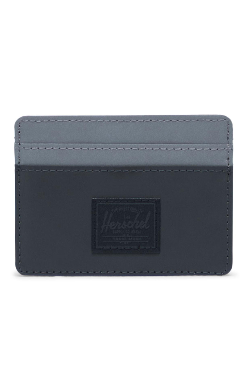 Charlie Reflective Wallet - Black/Silver