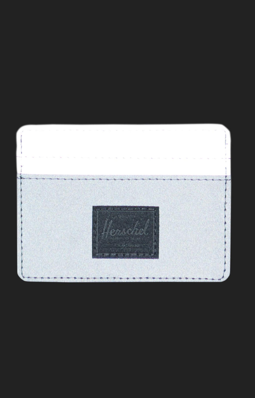 Charlie Reflective Wallet - Black/Silver 2